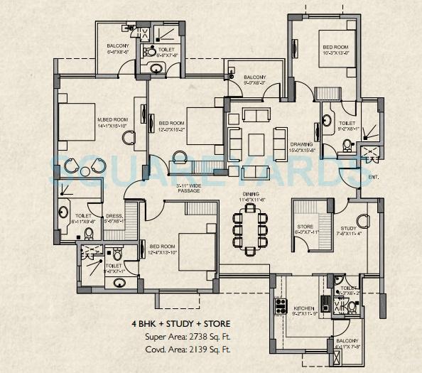steller mi legacy apartment 4bhk 2738sqft 1