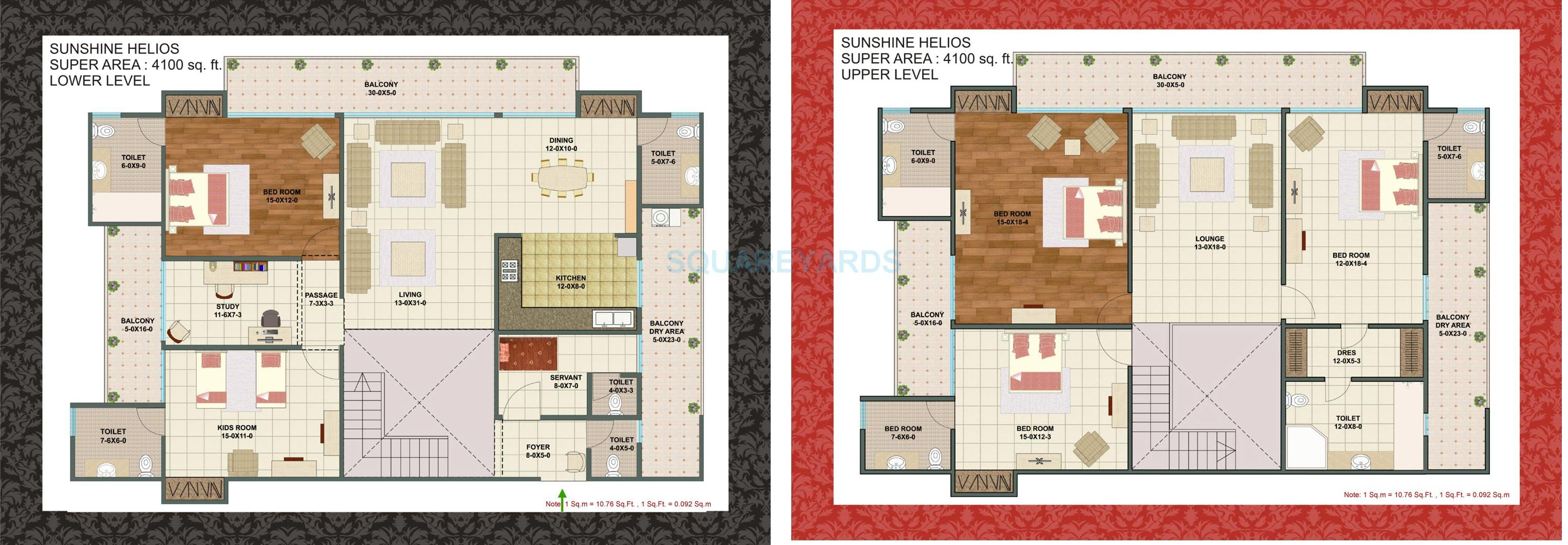 sunshine helios penthouse 5bhk 4100sqft 1
