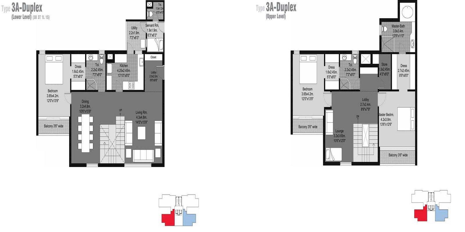 unitech habitat apartment 3bhk sq 3170sqft 81