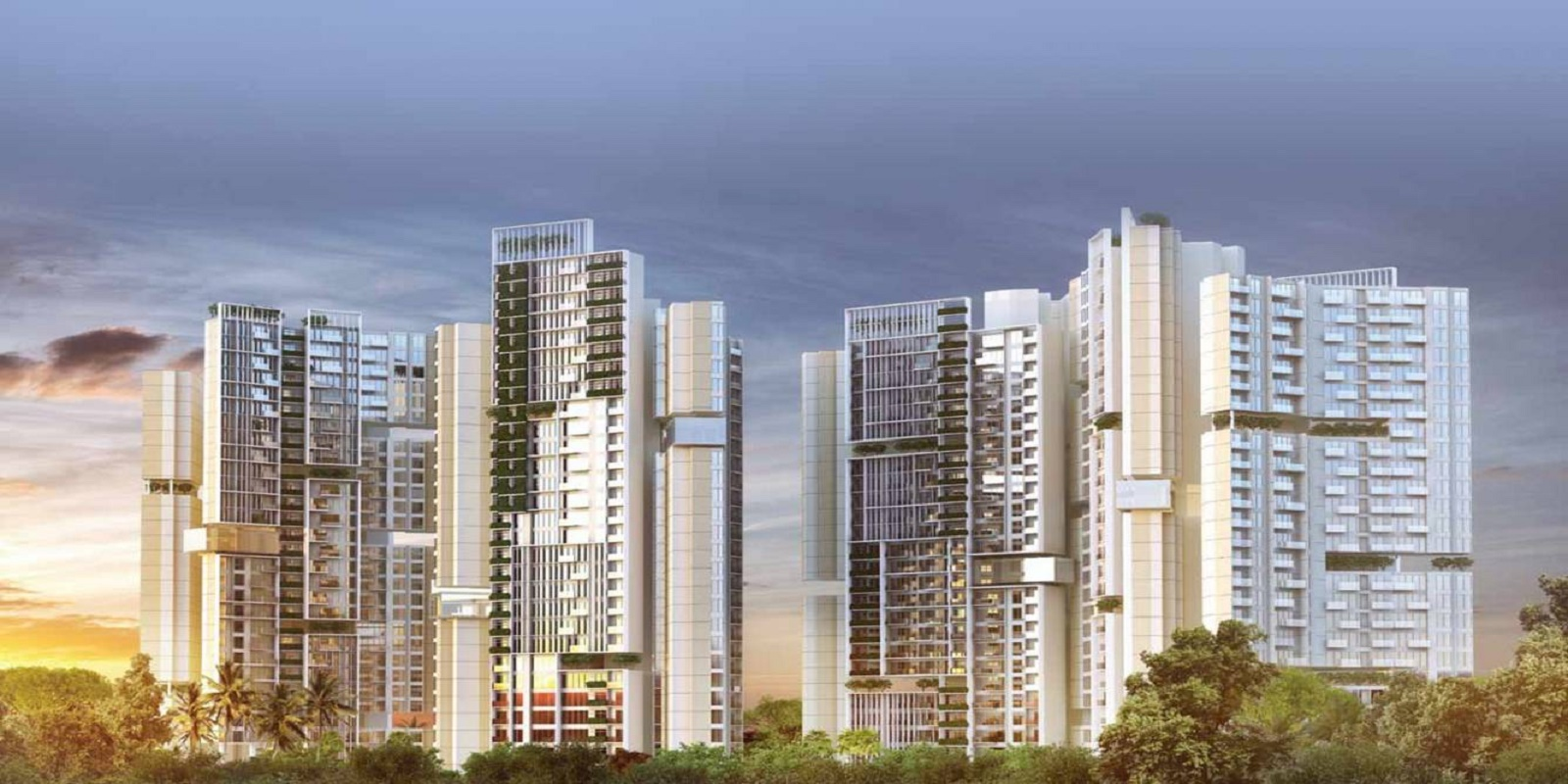 amanora adreno towers project project large image1