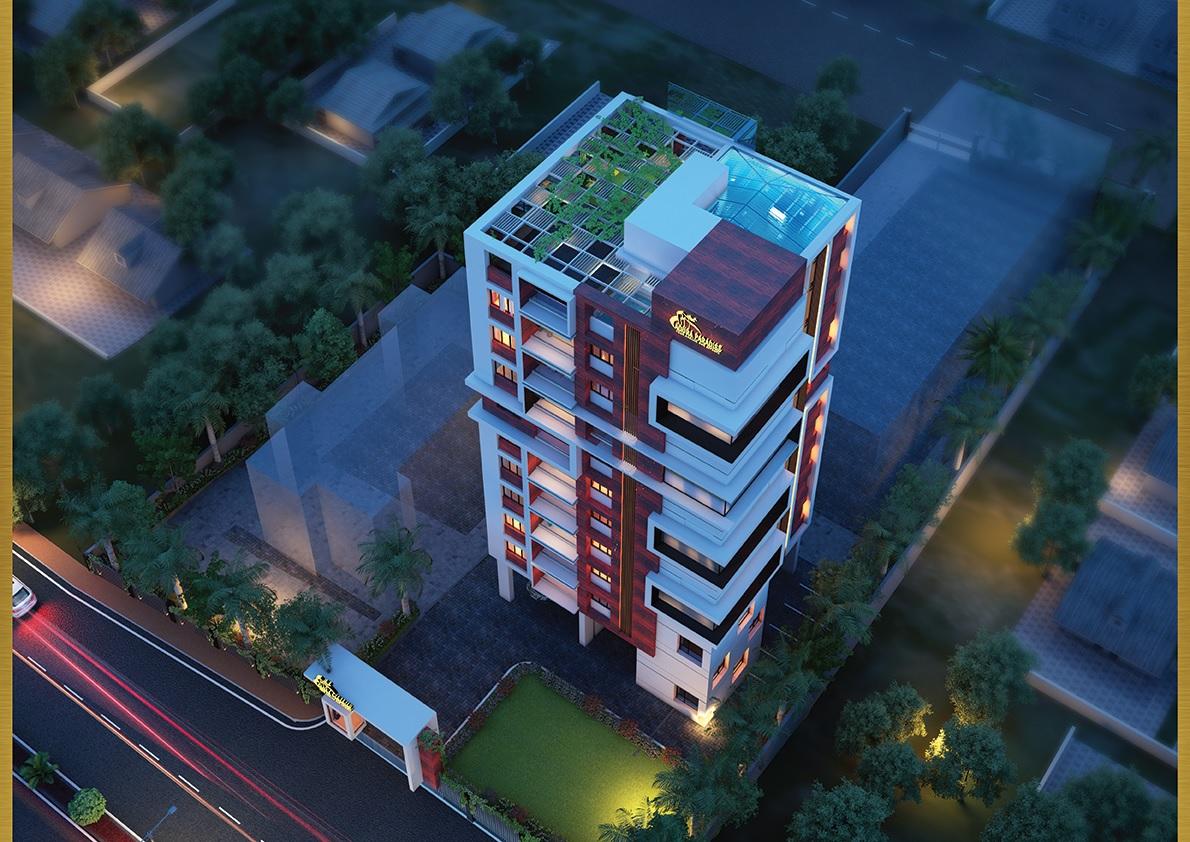 aqura paradise project tower view1