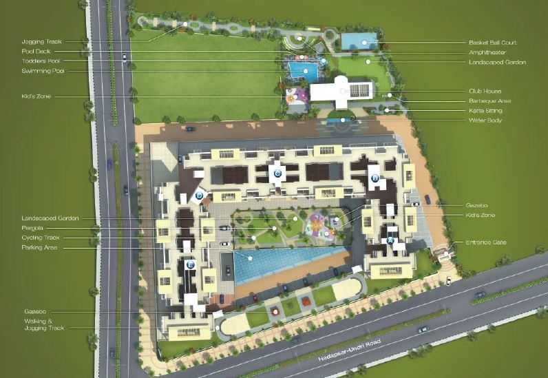 Image For Master Plan Image 1 Of Arv Royale In Hadapsar Pune