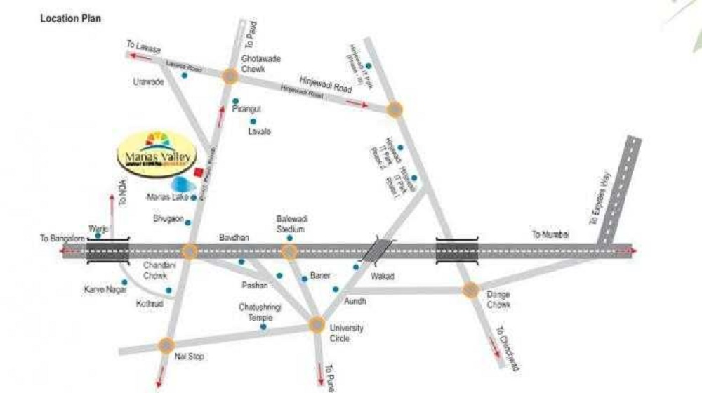 balaji manas valley project location image1