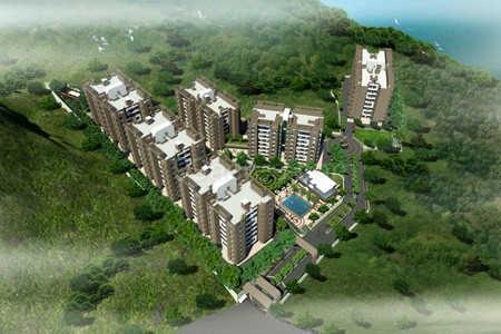 bhujbal quadra town project master plan image1