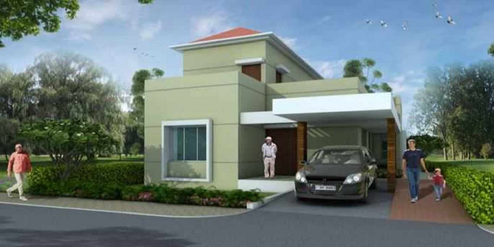 clover renaissance covai villas project project large image1
