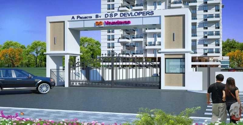dsp ds vrindavan project entrance view1