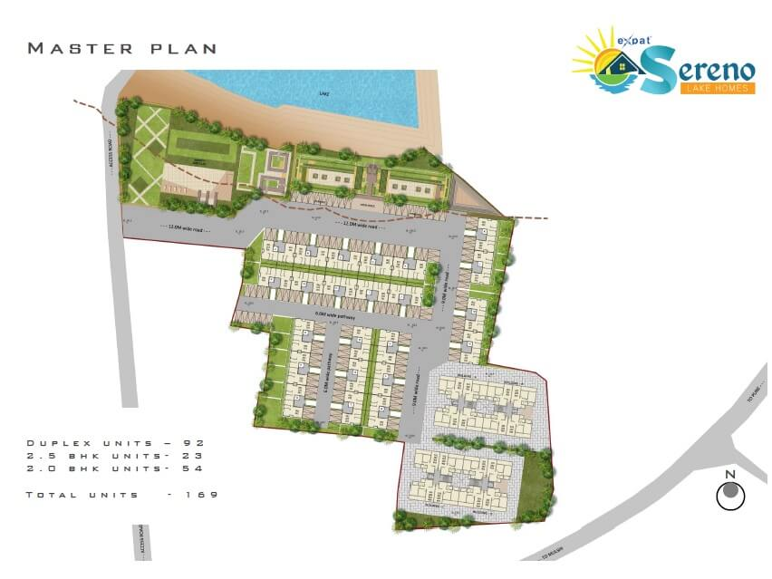 expat sereno lake homes master plan image1