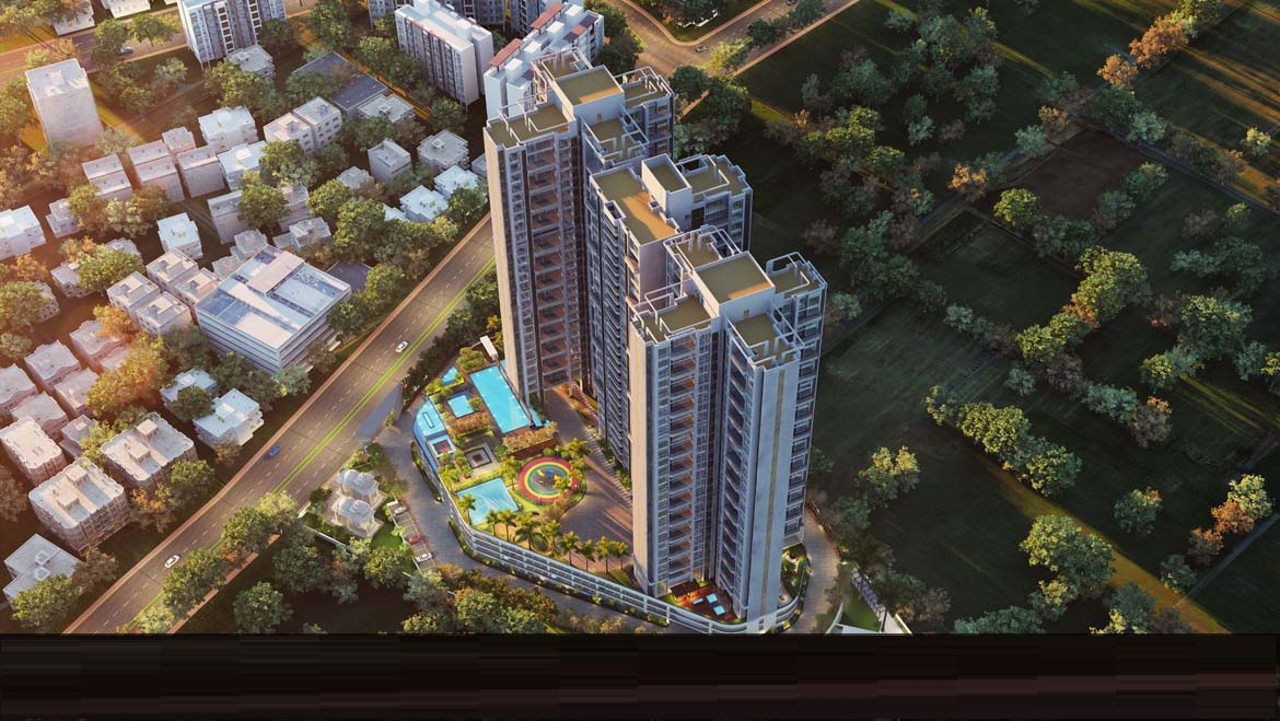 ganga dham towers project tower view2