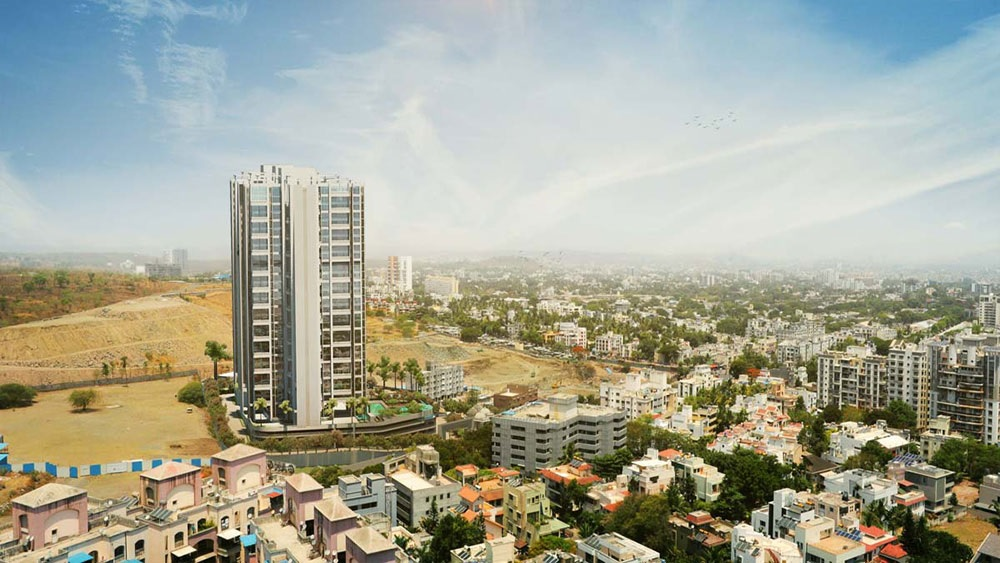 ganga dham towers project tower view4