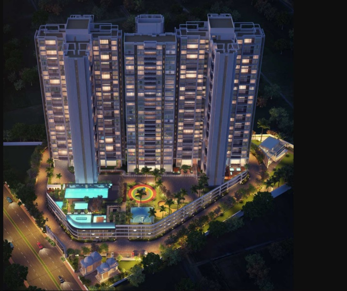 ganga dham towers project tower view6