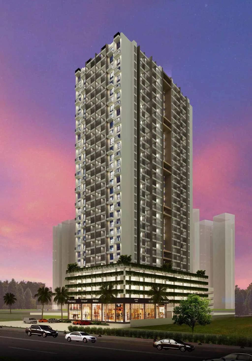 ganga nakshatra project tower view1