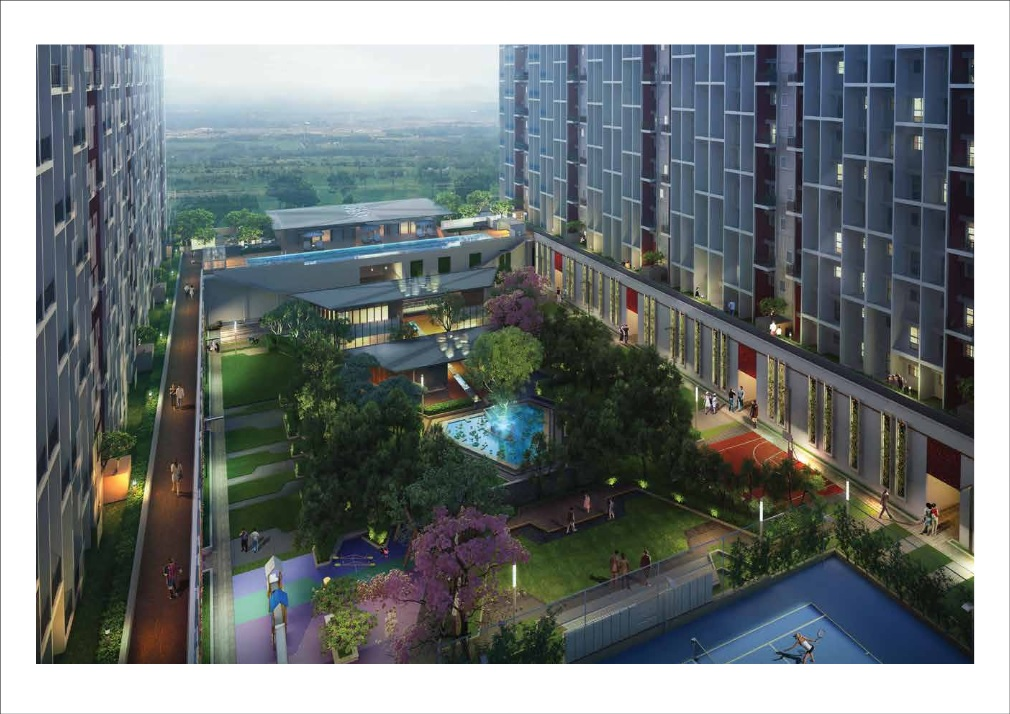godrej 24 project tower view1