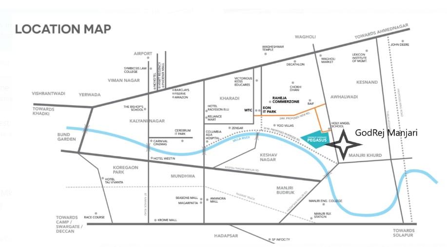 godrej boulevard location image2