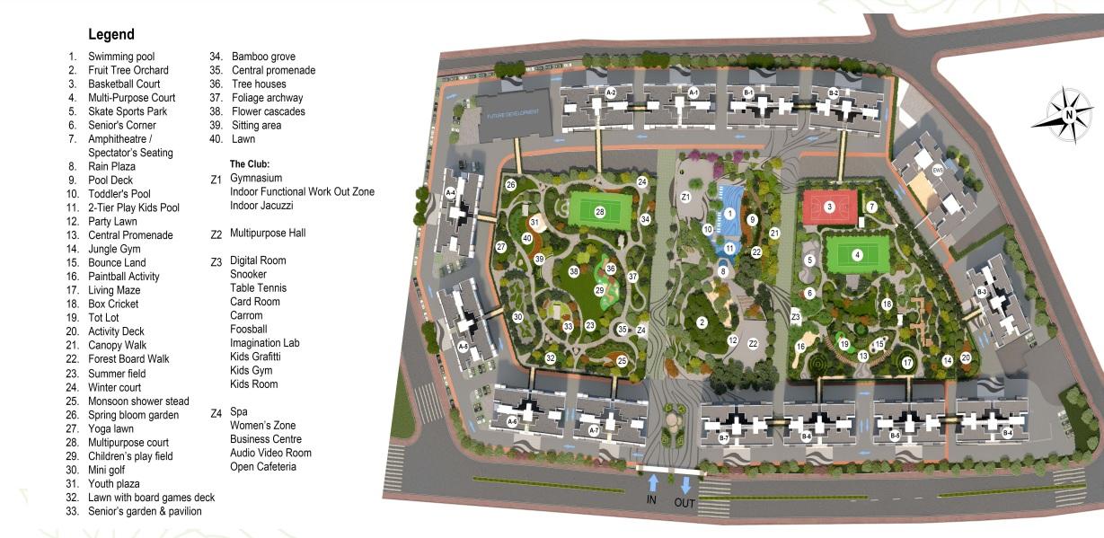 godrej forest grove master plan image4