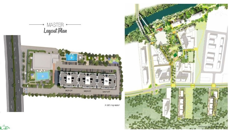 godrej hillside project master plan image1