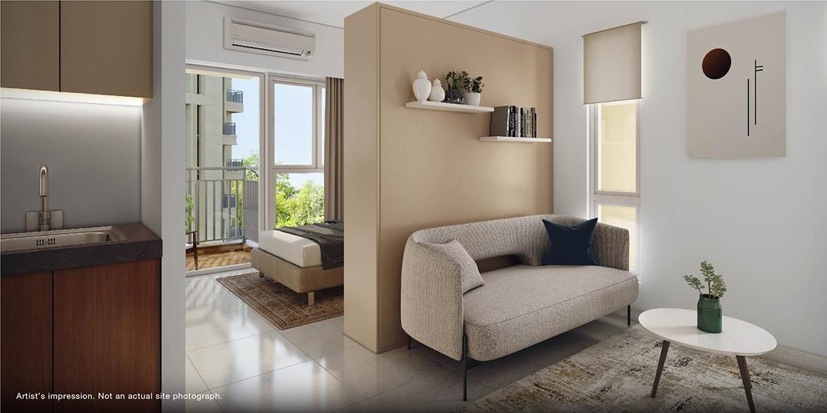 godrej park ridge project apartment interiors1