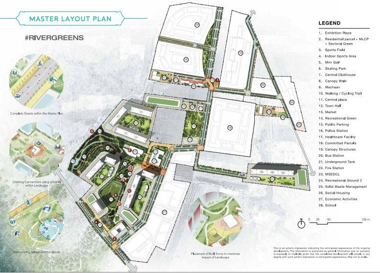 godrej rivergreens master plan image8