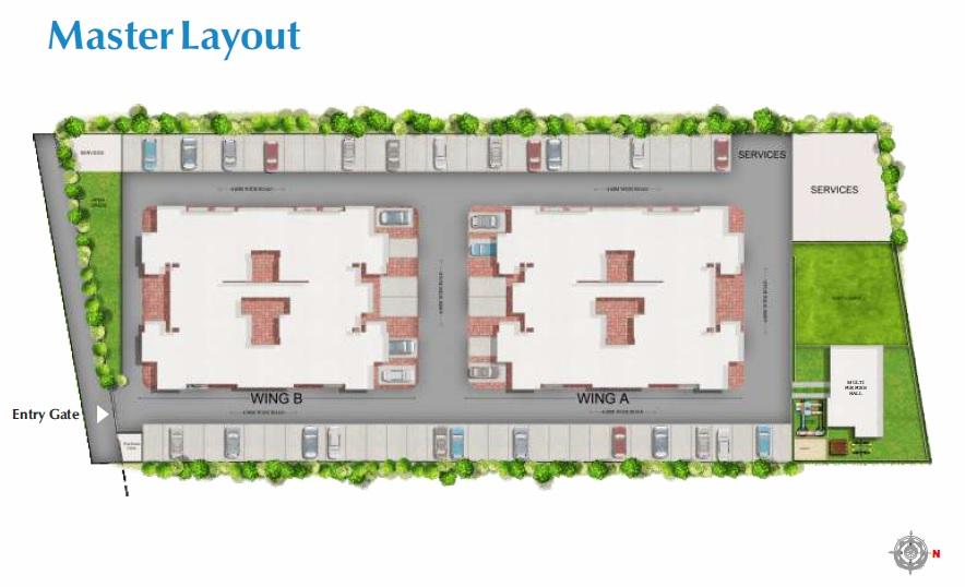 goel ganga vasant project master plan image1