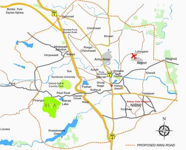 k raheja corp viva location image6