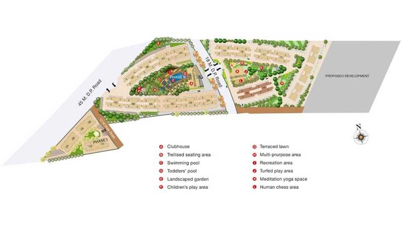 kalpataru estate building 8 master plan image2