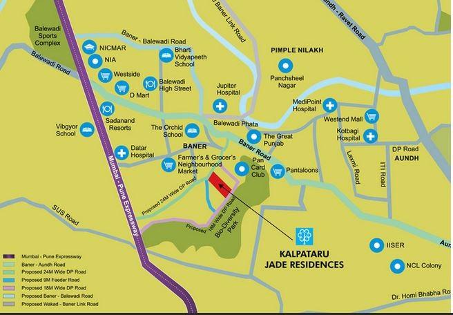 kalpataru jade residences g location image2