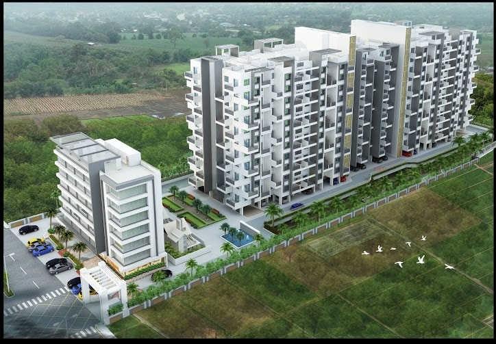 kamalraj parijat a building project tower view1