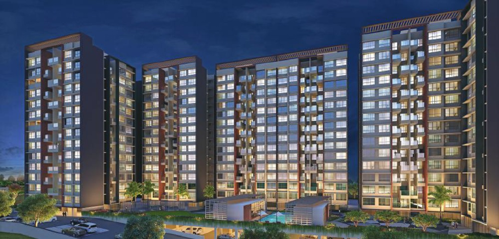 kohinoor coral phase 3 project tower view2