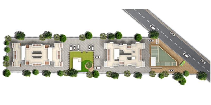 kohinoor iris park project master plan image1