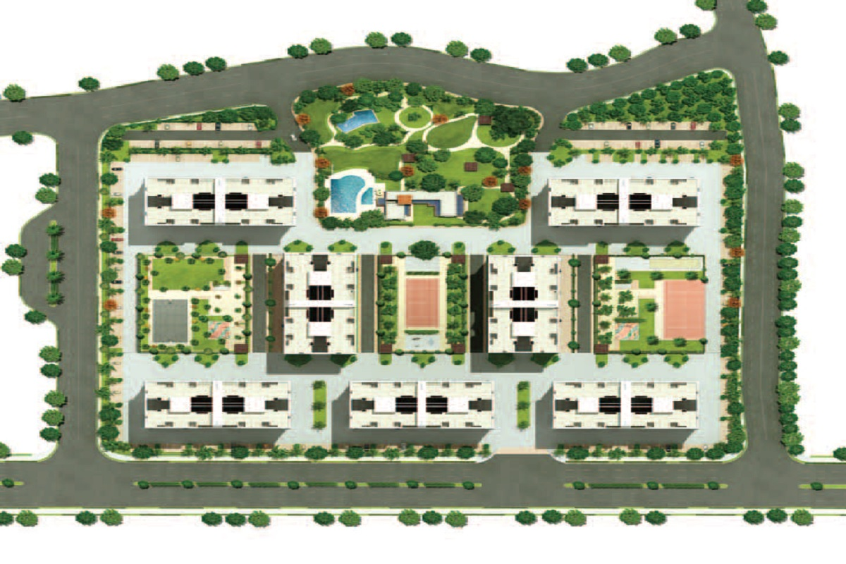 kolte patil 7 th avenue project master plan image1