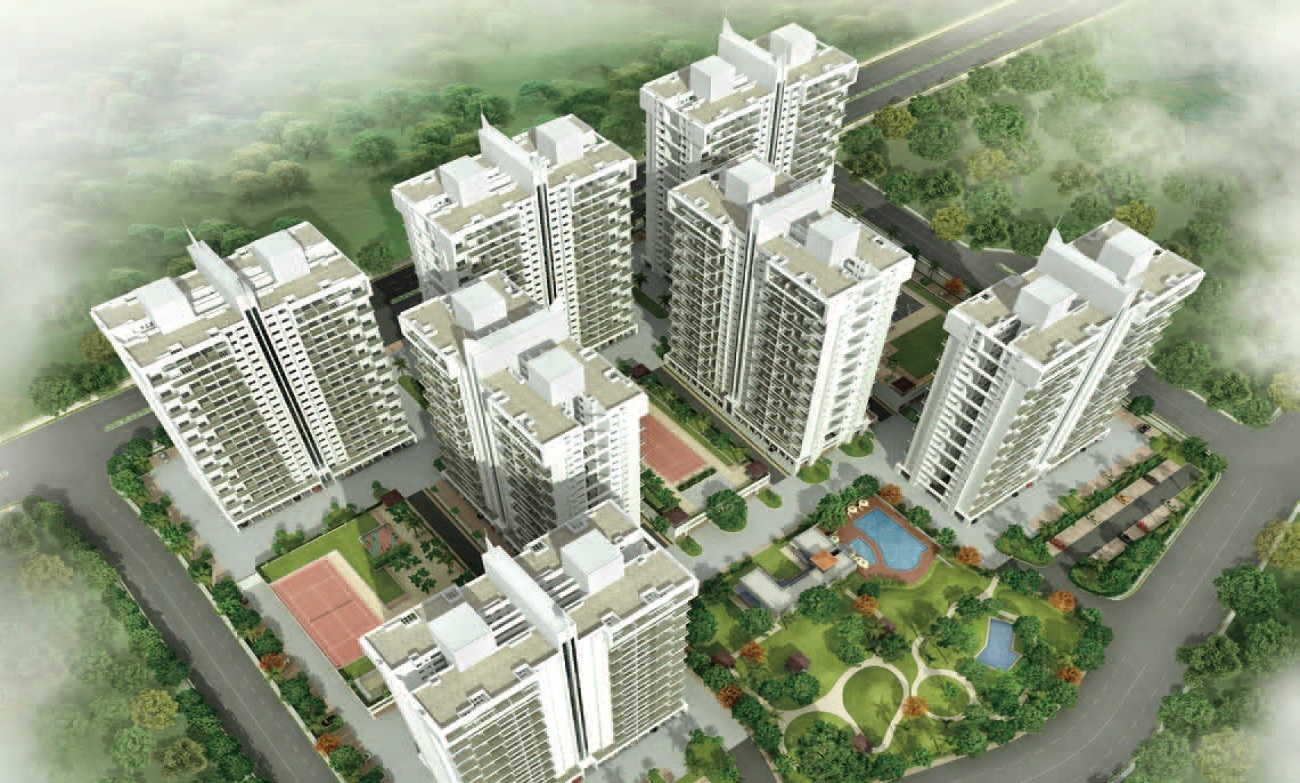 kolte patil 7 th avenue project tower view1