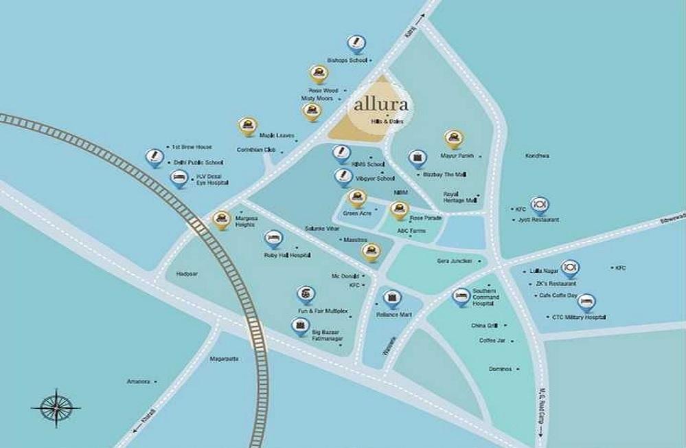 kolte patil allura project location image1