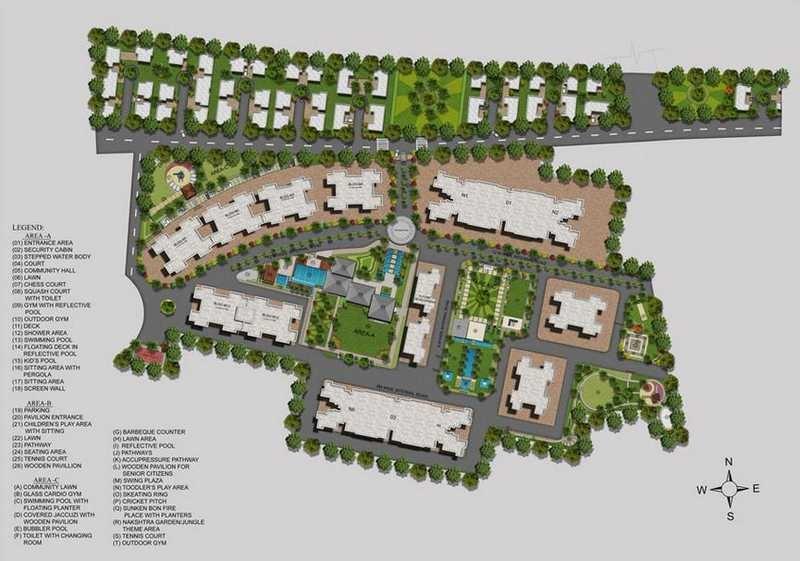 kolte patil allura project master plan image1
