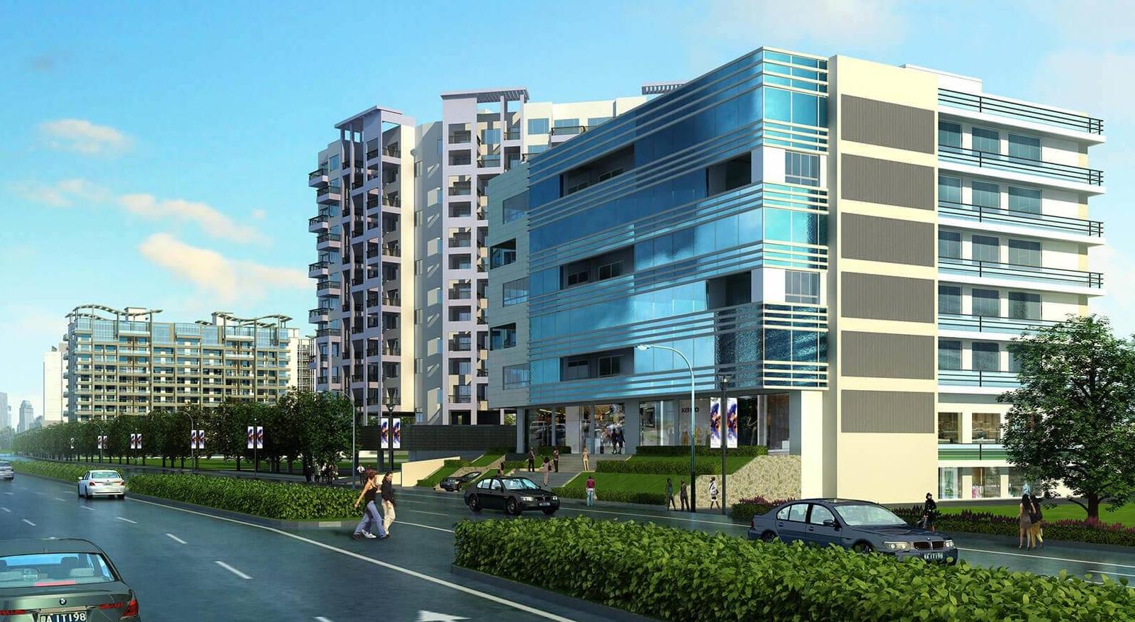 kolte patil city vista project tower view3