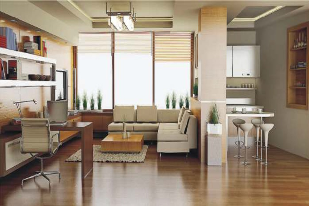 kolte patil green groves project apartment interiors1