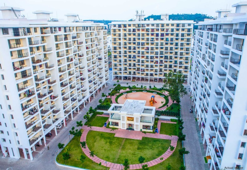 kolte patil ivy apartments project tower view1