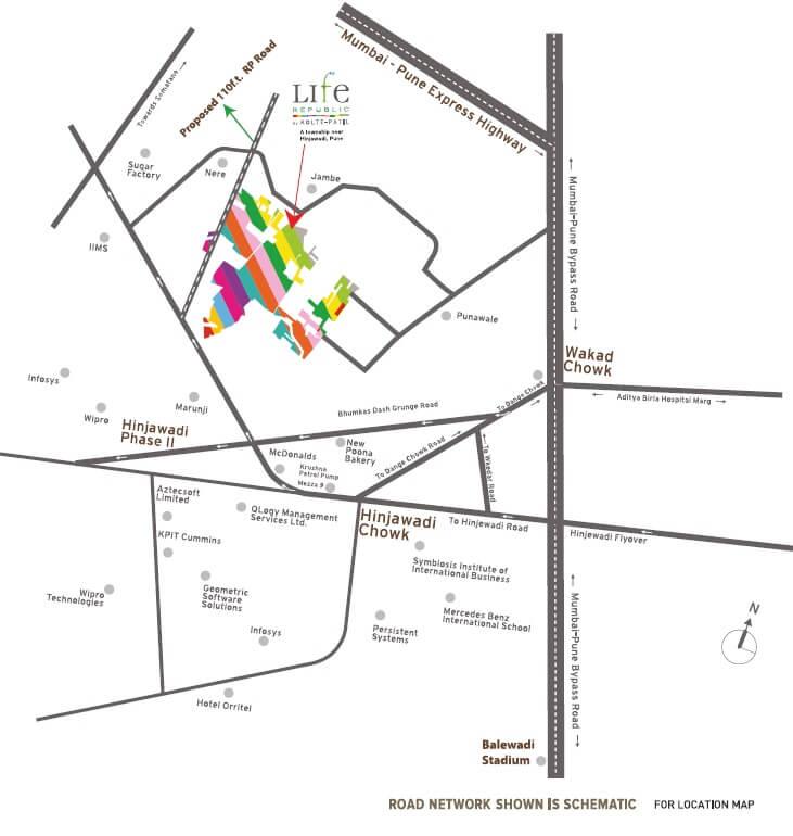 kolte patil life republic 16th avenue arezo location image1