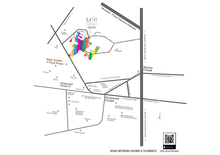 kolte patil life republic arezo location image4