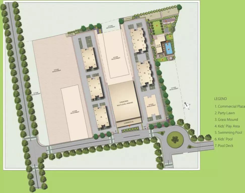 kolte patil life republic arezo master plan image5