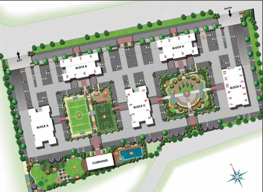 kolte patil life republic master plan image1
