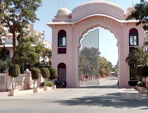 kolte patil pink city project entrance view1