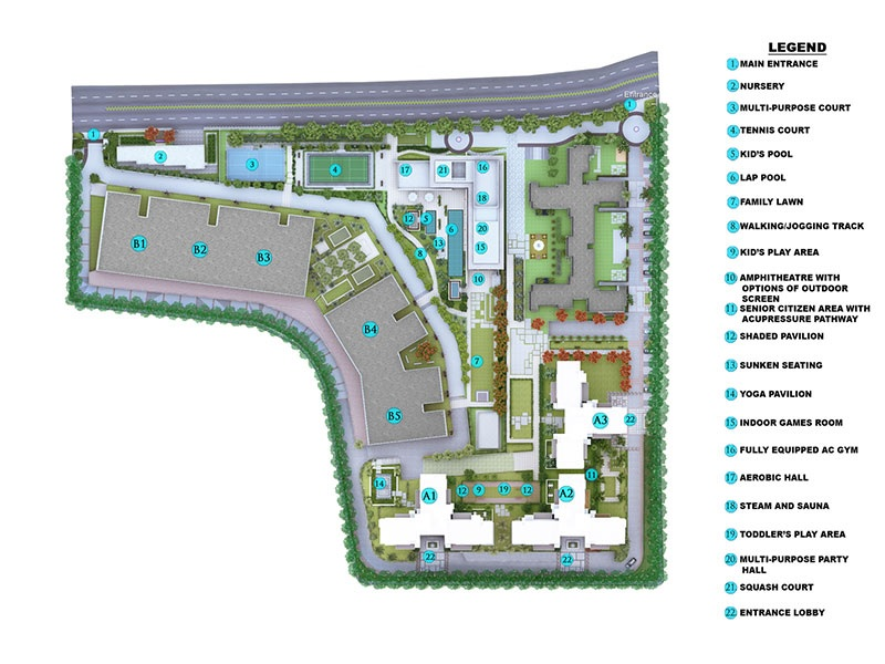 kolte patil tuscan estate master plan image3