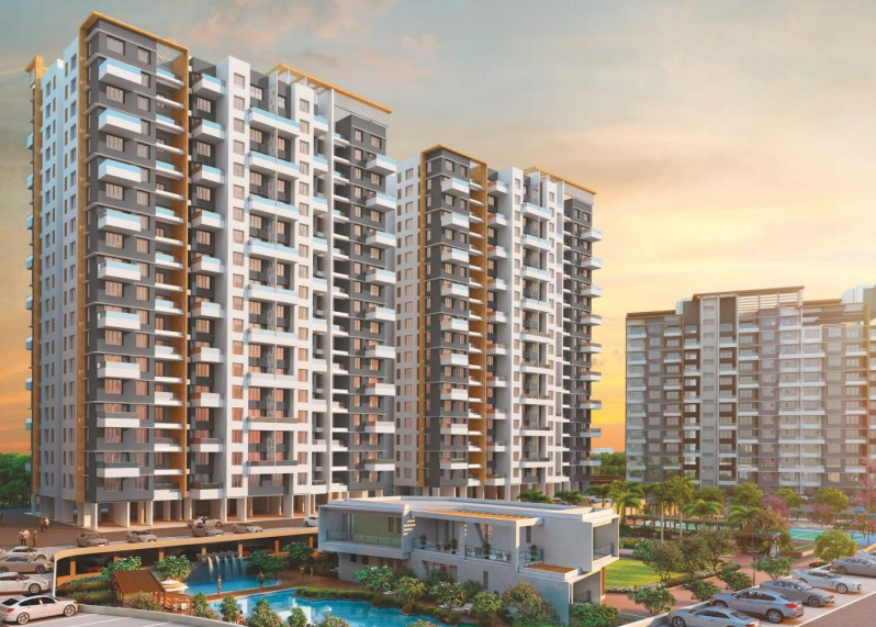 kolte patil western avenue  project tower view1