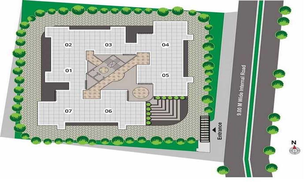 kumar palm dew project master plan image1