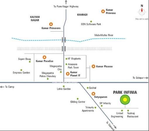 kumar park project location image1