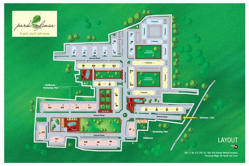 kumar park project master plan image1
