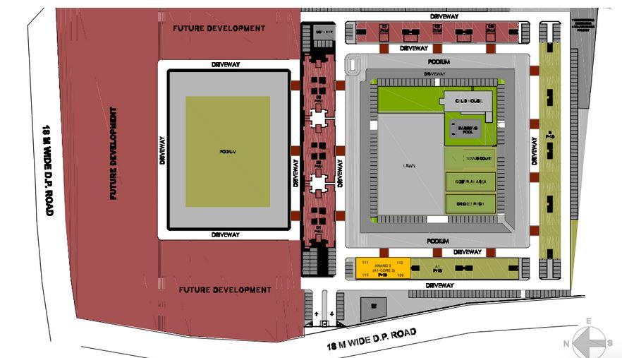kumar pebble park master plan image5