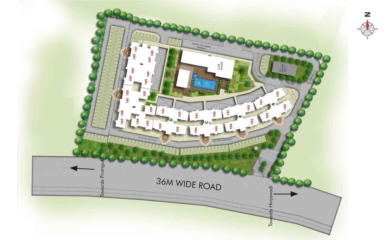 kumar smart homes 5 springs master plan image4