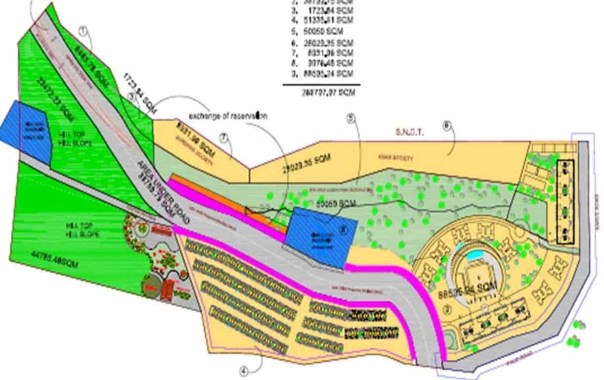 kumar urban 45 nirvana hills master plan image3