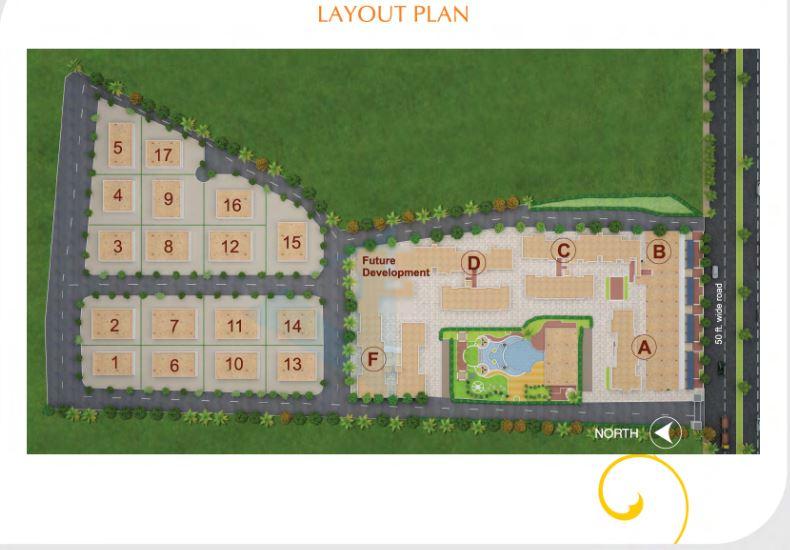 kumar urban laxmi villas master plan image6
