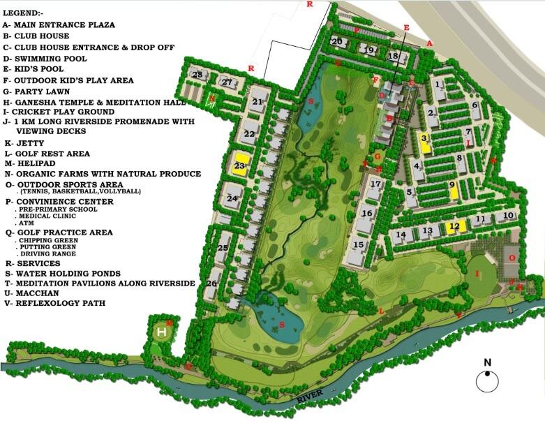 lodha belmondo tower 30 master plan image2